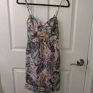 J. Crew Factory Spaghetti Strap Poplin Cami Dress